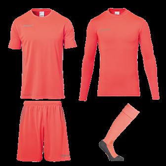 Score Torwart-Set Orange