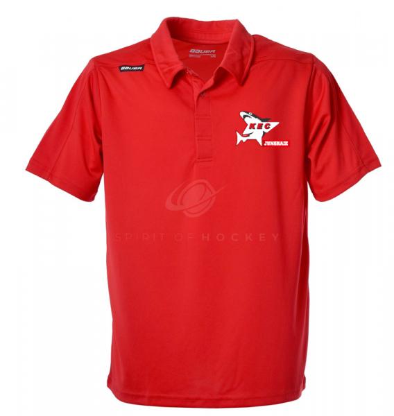 Sport Kurzarm Polo rot