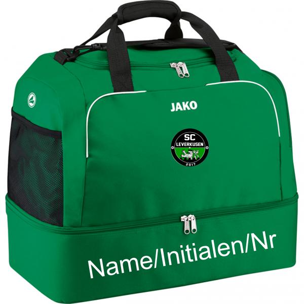 Sporttasche Classico mit Bodenfach grün
