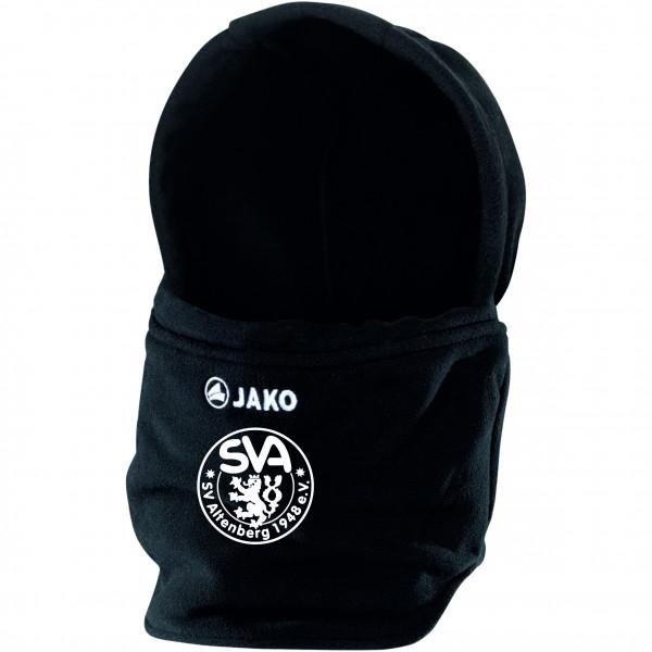Fleece Neckwarmer mit Mütze