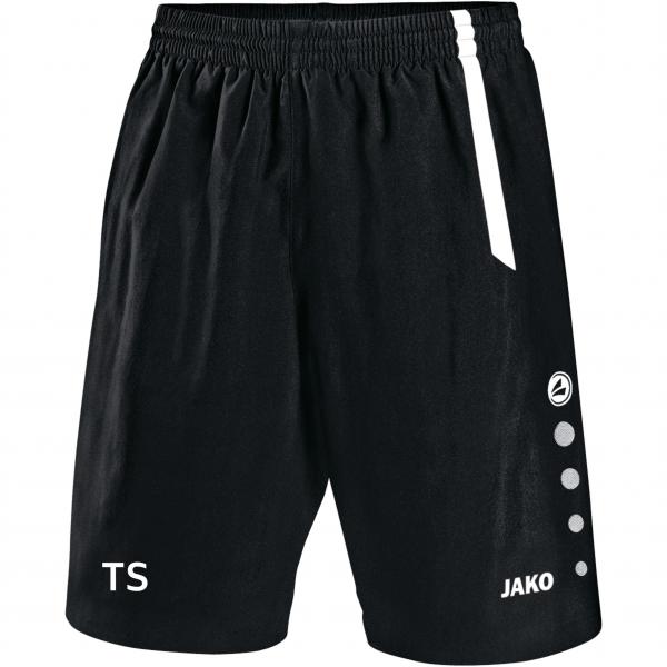 Turin Short schwarz/weiß