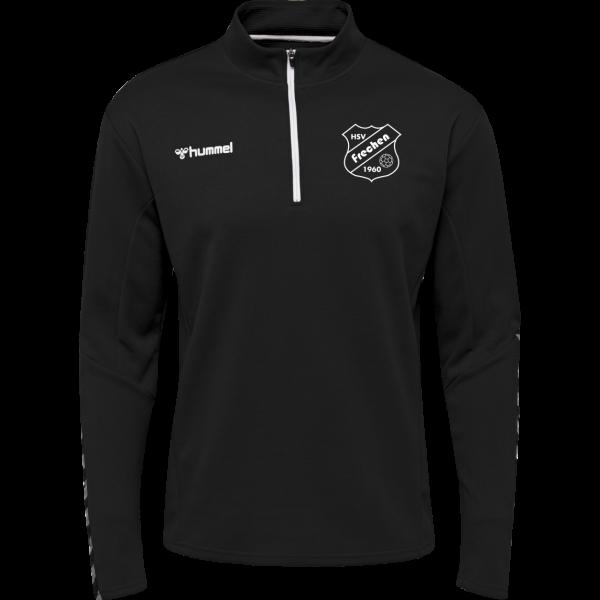 HMLAUTHENTIC Half Zip Sweatshirt DAMEN
