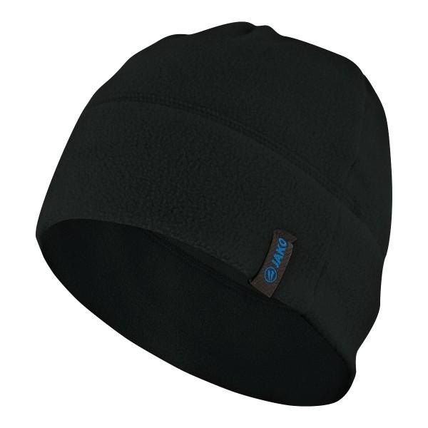 Fleecemütze schwarz