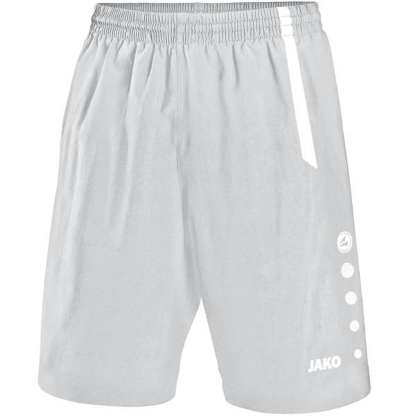 Turin Short silbergrau/weiß