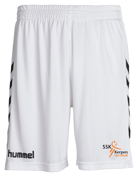 Core Poly Shorts weiß