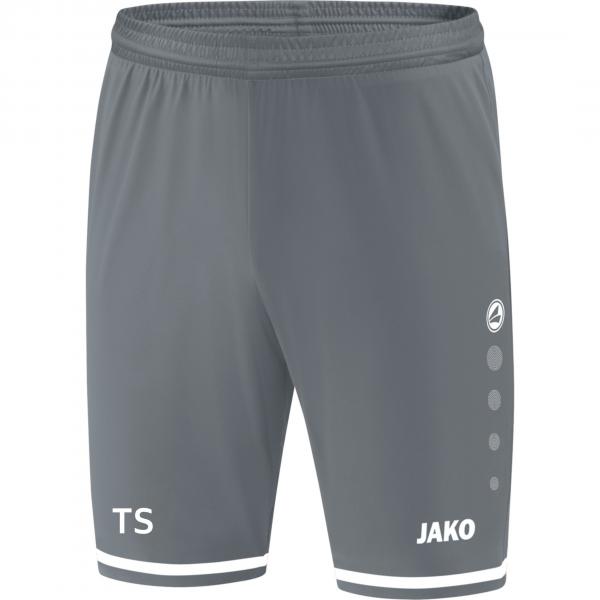 Striker TW-Shorts steingrau/weiß