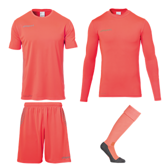 Score Torwart-Set Orange